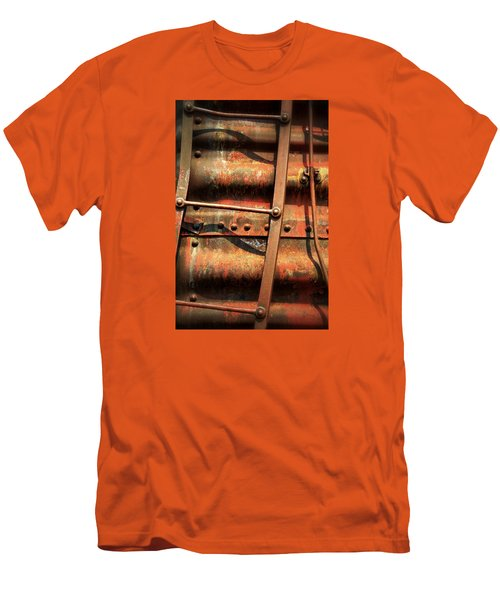 Red Ladder Men's T-Shirt (Slim Fit) by Newel Hunter