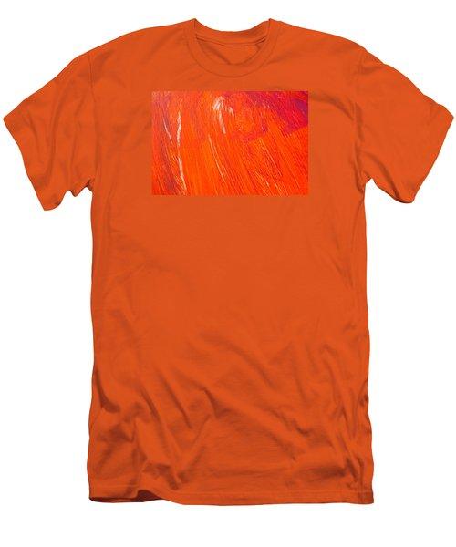 Red Paint Men's T-Shirt (Athletic Fit)