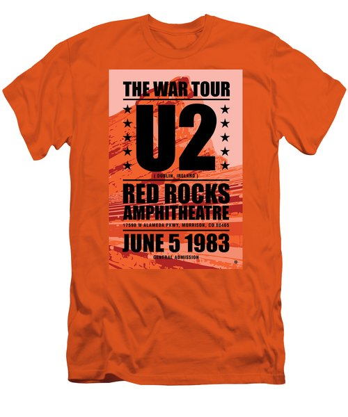 Red Rock Concert Men's T-Shirt (Slim Fit) by Gary Grayson