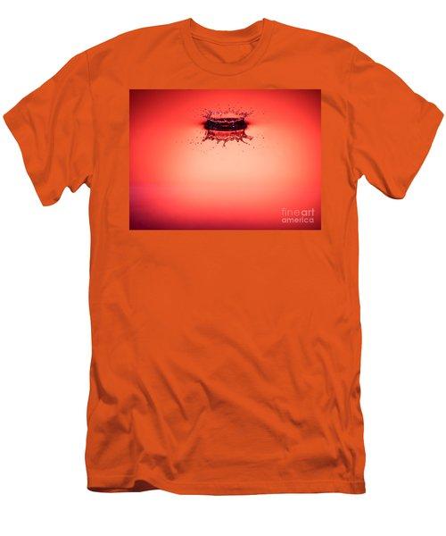 Red Splashdown 2 Men's T-Shirt (Athletic Fit)