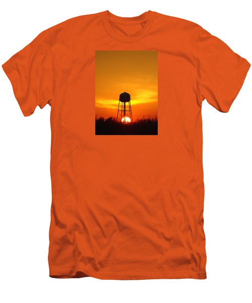 Redneck Water Heater For Whole Town Men's T-Shirt (Slim Fit) by J R Seymour