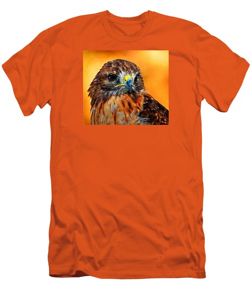 Redtailed Hawk Men's T-Shirt (Athletic Fit)