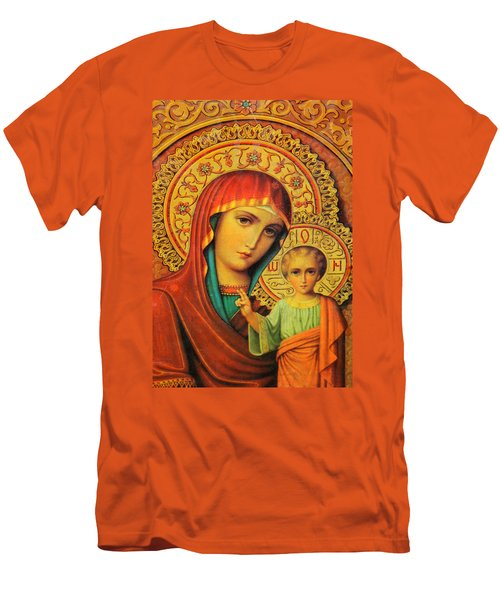 Religion In Red Men's T-Shirt (Athletic Fit)