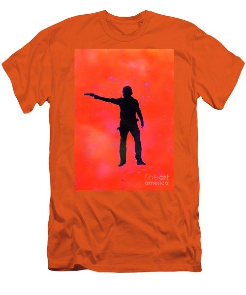 Rick Grimes Men's T-Shirt (Slim Fit) by Justin Moore