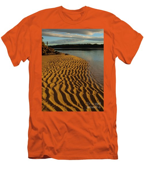 Ripples To The Edge Men's T-Shirt (Slim Fit)