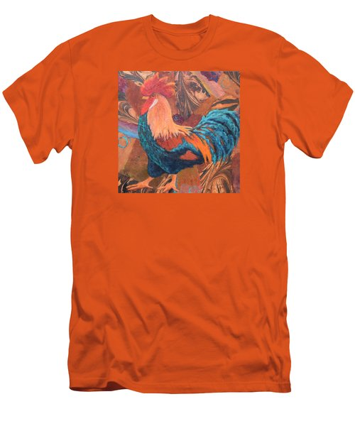 Men's T-Shirt (Slim Fit) featuring the painting Rise And Shine by Nancy Jolley