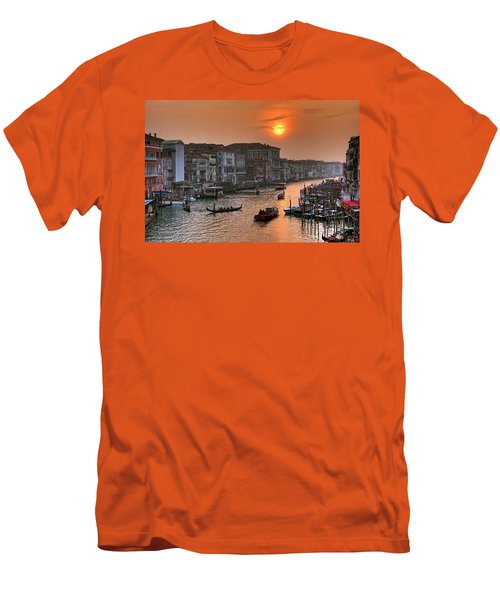 Riva Del Ferro. Venezia Men's T-Shirt (Athletic Fit)