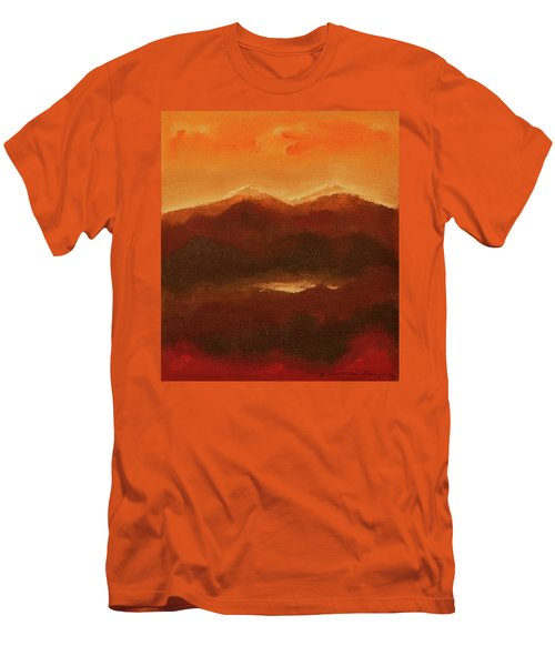 River Mountain View Men's T-Shirt (Athletic Fit)