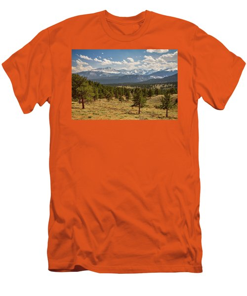 Rocky Mountain Afternoon High Men's T-Shirt (Slim Fit) by James BO Insogna