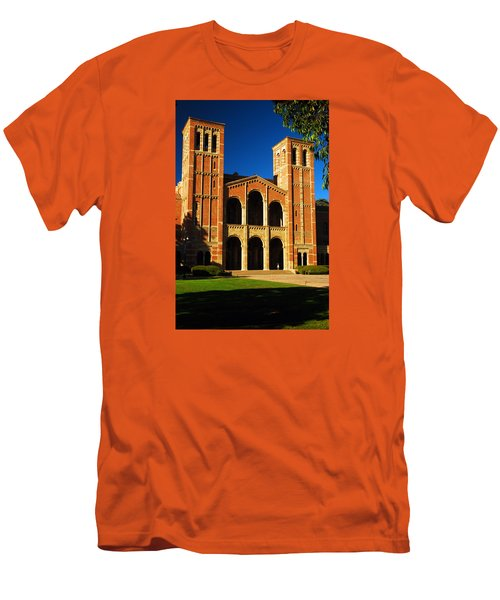 Royce Hall Ucla Men's T-Shirt (Slim Fit) by James Kirkikis