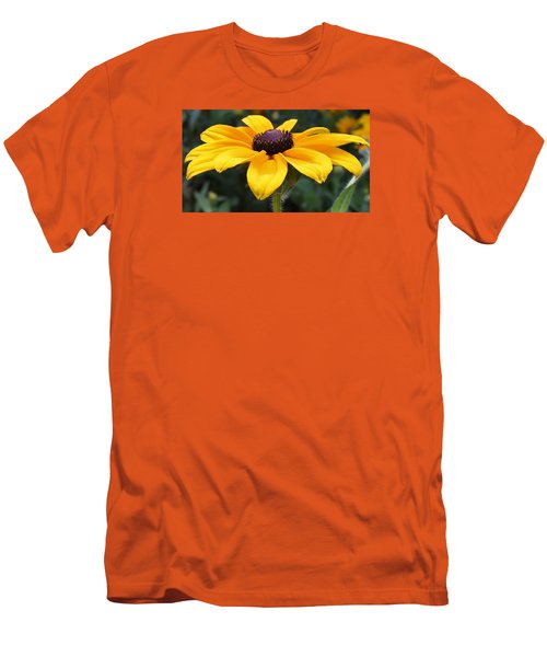 Rudbeckia Bloom Up Close Men's T-Shirt (Slim Fit) by Bruce Bley