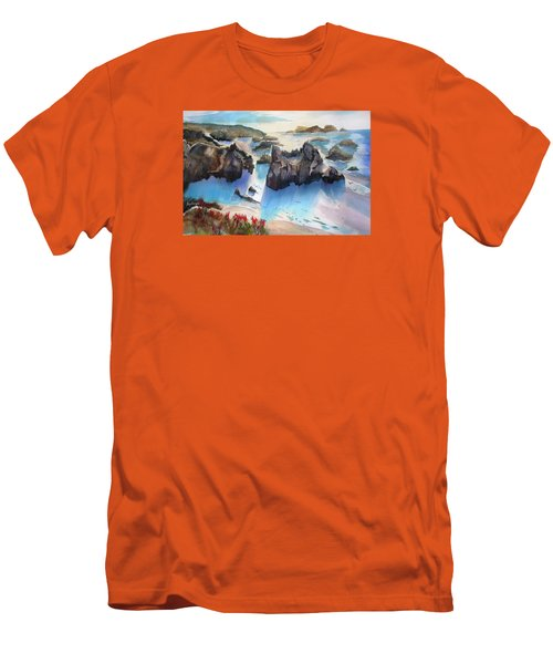 Marin Lovers Coastline Men's T-Shirt (Athletic Fit)
