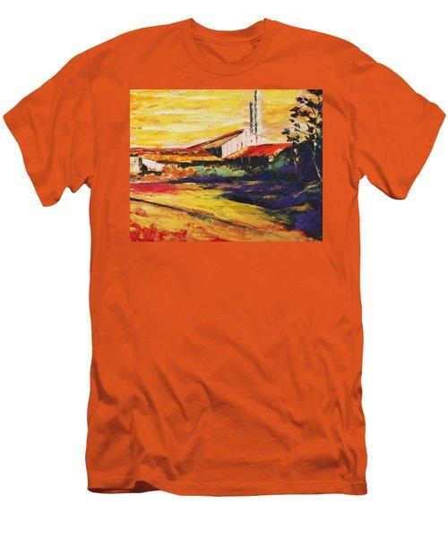 Ruinas De La Central Eureka Men's T-Shirt (Athletic Fit)