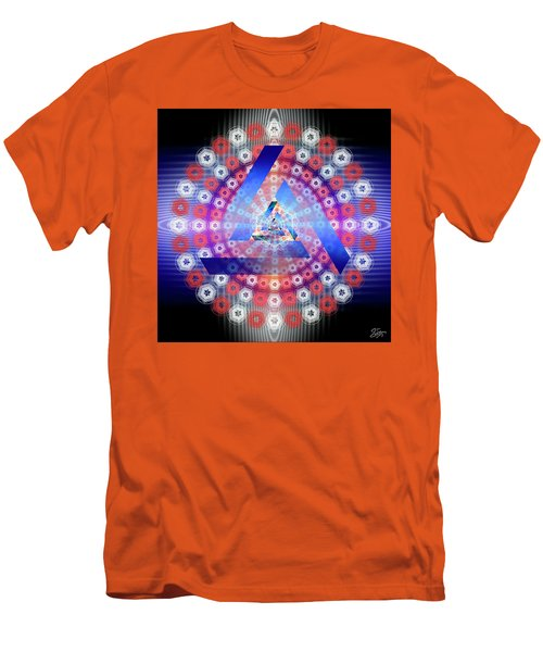 Sacred Geometry 646 Men's T-Shirt (Athletic Fit)