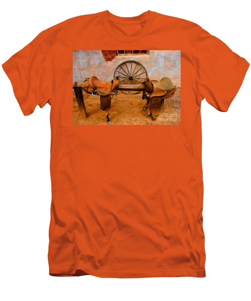 Saddle Town Men's T-Shirt (Athletic Fit)