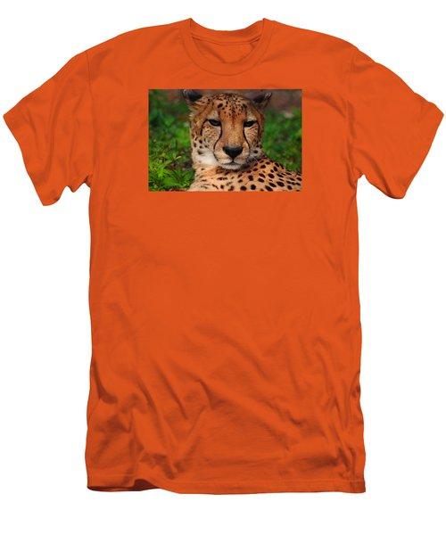 Men's T-Shirt (Slim Fit) featuring the photograph Samson by Michiale Schneider