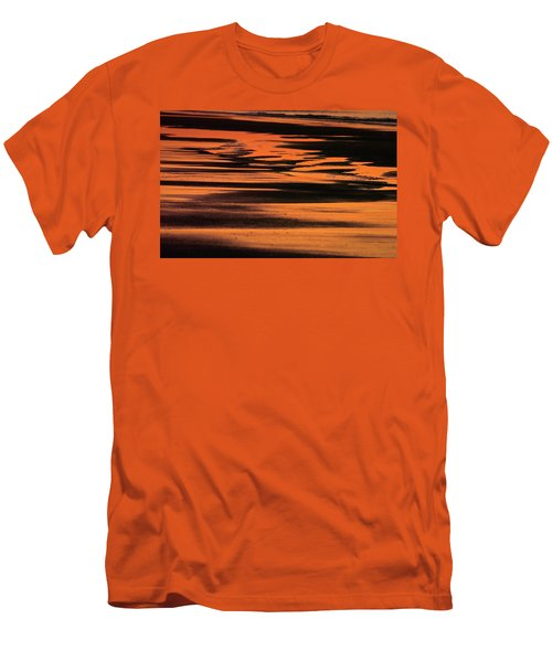 Sandy Reflection Men's T-Shirt (Athletic Fit)