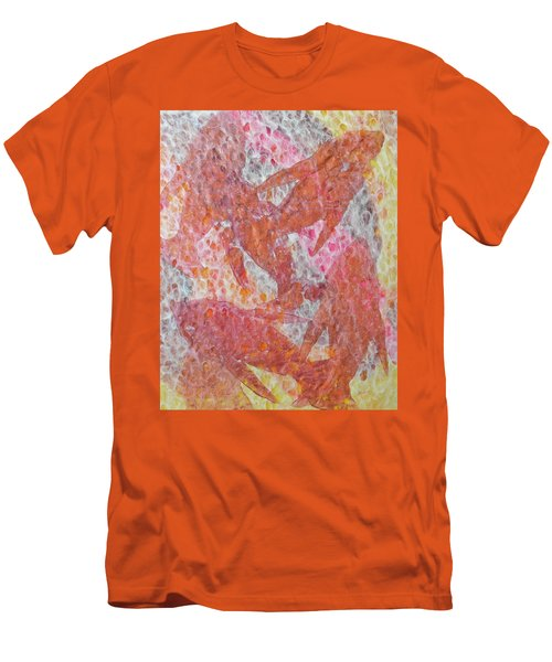 Men's T-Shirt (Athletic Fit) featuring the painting Schooled by Michele Myers