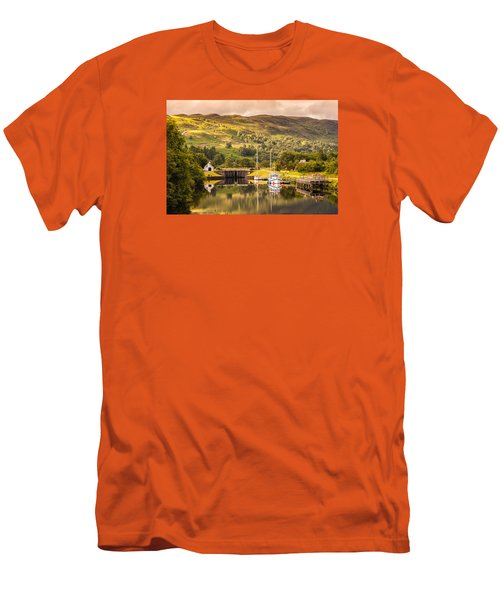 Scottish Loch 3 Men's T-Shirt (Athletic Fit)