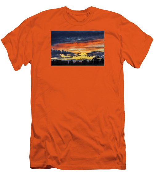 Men's T-Shirt (Slim Fit) featuring the photograph Scottish Sunset by Jeremy Lavender Photography
