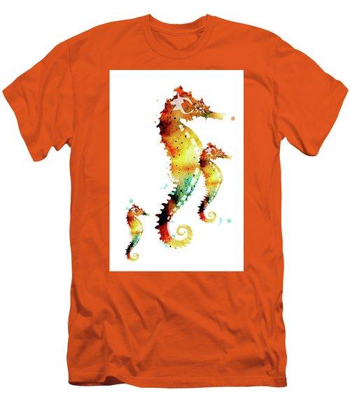 Seahorses Men's T-Shirt (Athletic Fit)