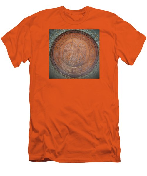 Seal Of Approval  Men's T-Shirt (Slim Fit) by Jame Hayes