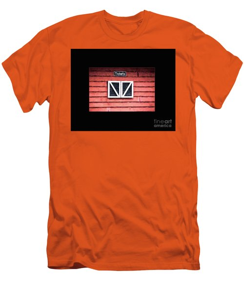 Men's T-Shirt (Slim Fit) featuring the photograph Season's Over by Laurinda Bowling