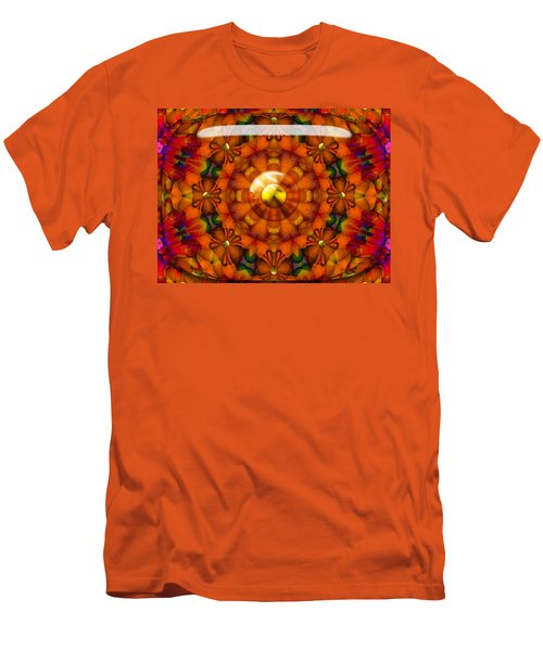 Men's T-Shirt (Slim Fit) featuring the digital art Seasons by Robert Orinski