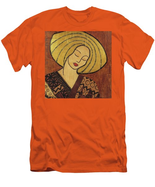 Men's T-Shirt (Slim Fit) featuring the mixed media Serenity by Gloria Rothrock