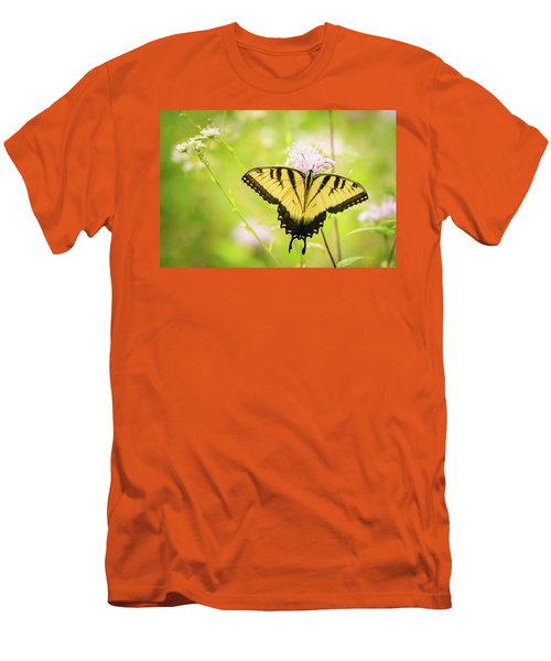 Series Of Yellow Swallowtail #6 Of 6 Men's T-Shirt (Athletic Fit)