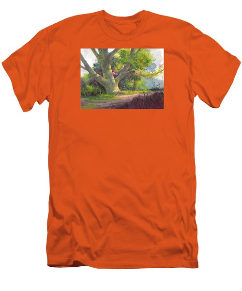 Shady Oasis Men's T-Shirt (Slim Fit) by Michael Humphries