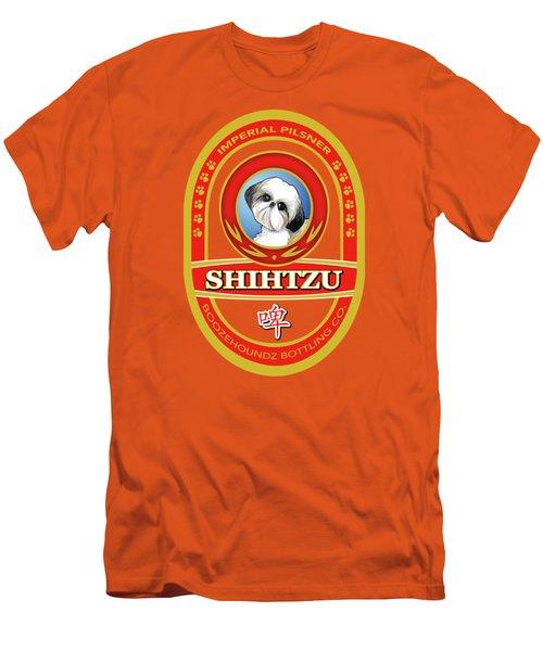 Shih Tzu Imperial Pilsner Men's T-Shirt (Athletic Fit)