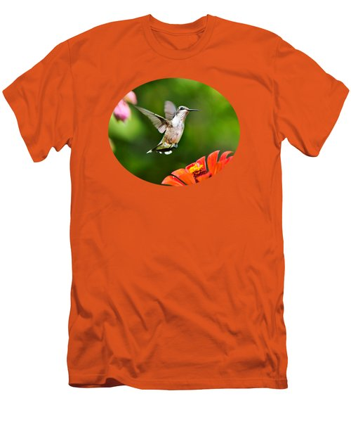 Shimmering Breeze Hummingbird Men's T-Shirt (Athletic Fit)