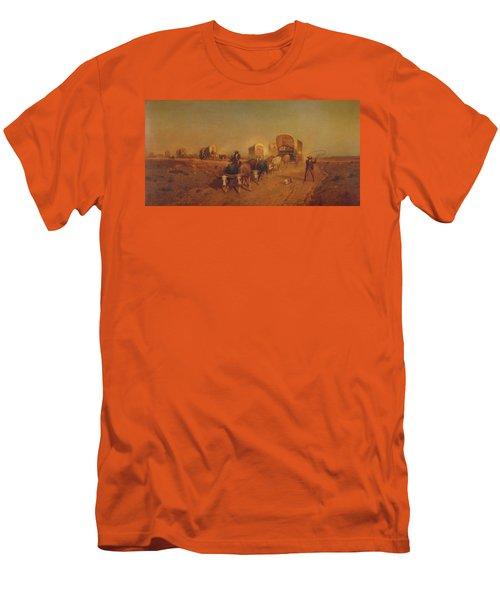 Ship Of The Plains Men's T-Shirt (Athletic Fit)