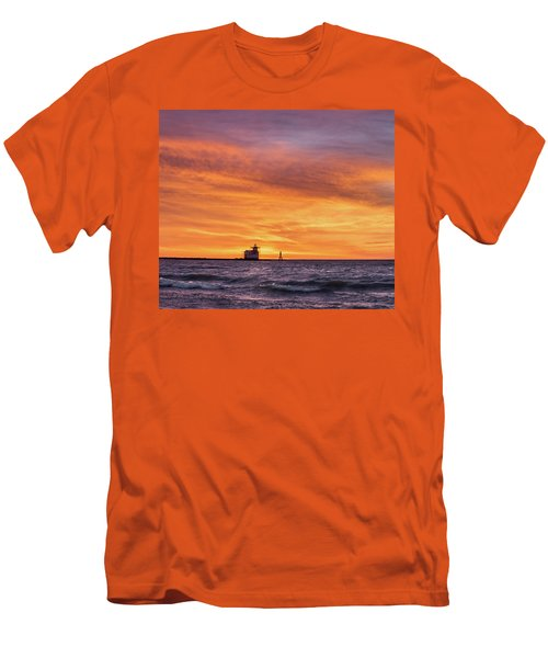 Men's T-Shirt (Athletic Fit) featuring the photograph Should Have Been There by Bill Pevlor