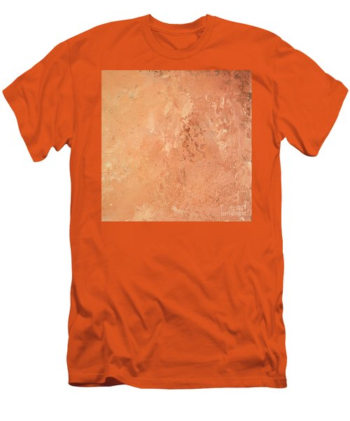Sienna Rose Men's T-Shirt (Slim Fit) by Michael Rock