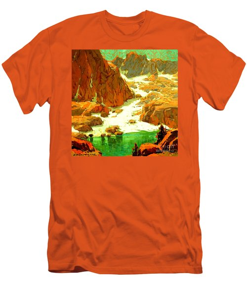 Sierra Landscape Circa 1920 Men's T-Shirt (Athletic Fit)