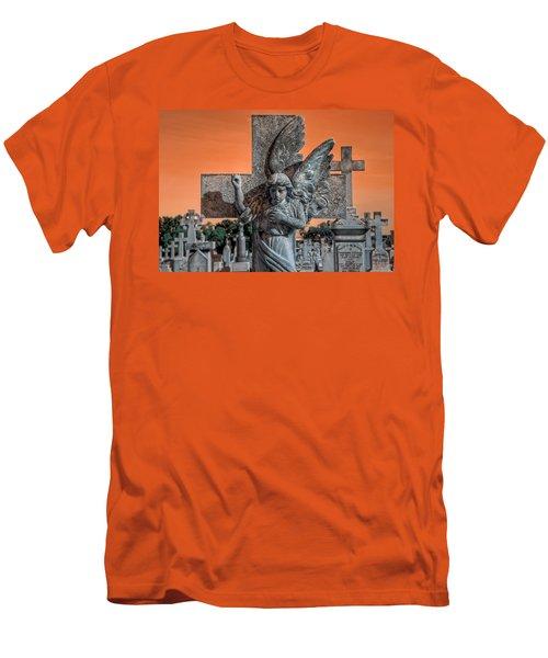 Silent Vigil Men's T-Shirt (Athletic Fit)