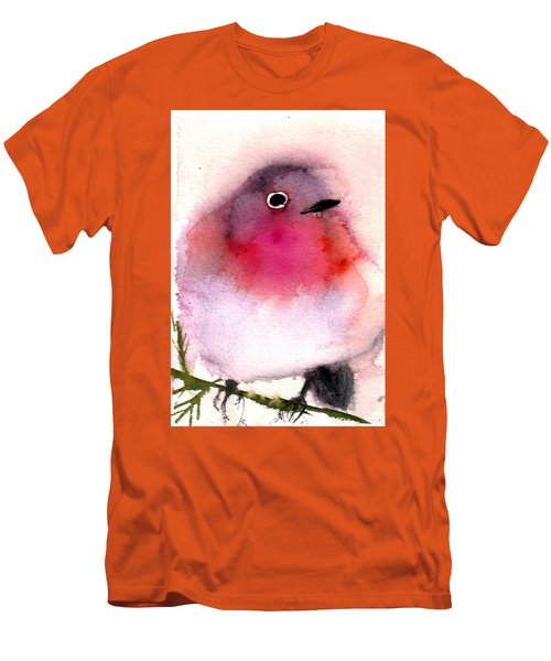 Silly Bird #6 Men's T-Shirt (Athletic Fit)