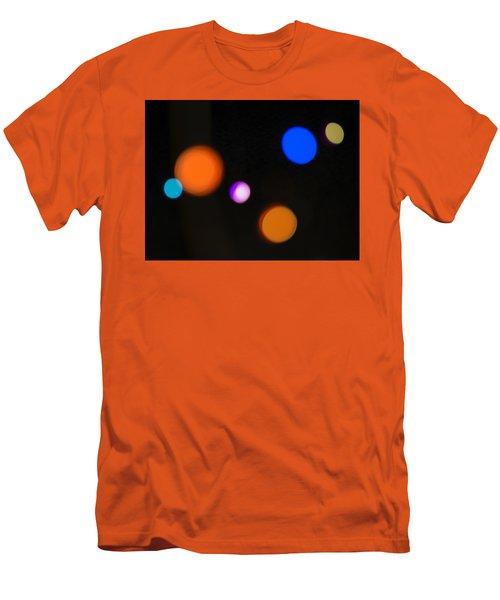 Simple Circles Men's T-Shirt (Slim Fit) by Susan Stone