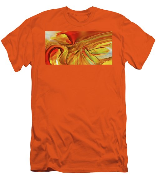 Men's T-Shirt (Slim Fit) featuring the digital art Sister Bengal by Steve Sperry
