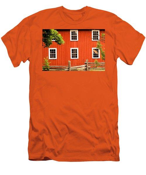 Six Windows Men's T-Shirt (Athletic Fit)