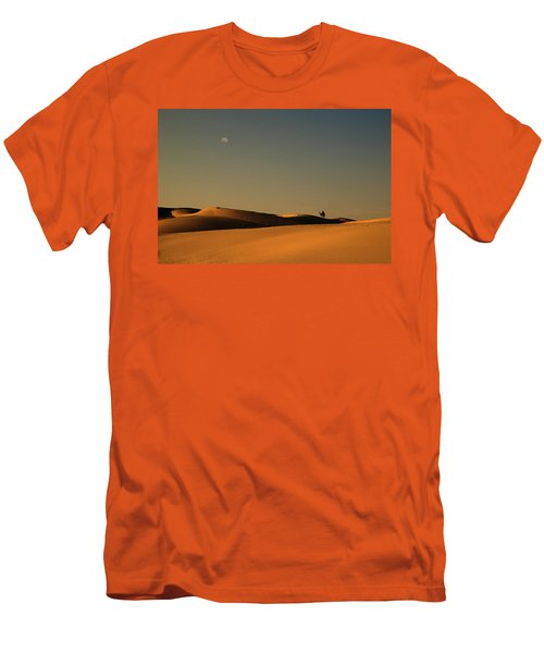 Skn 1117 Camel Ride At 6 Men's T-Shirt (Athletic Fit)