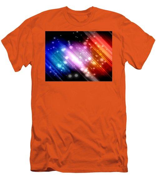 Sky Beams Men's T-Shirt (Slim Fit) by Carol Crisafi