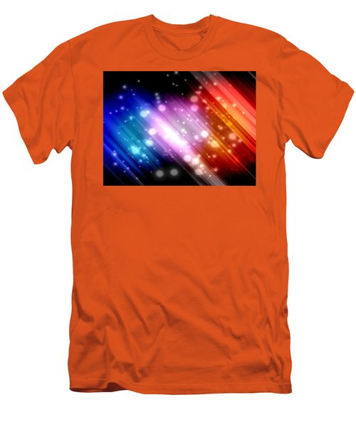 Sky Beams Men's T-Shirt (Athletic Fit)