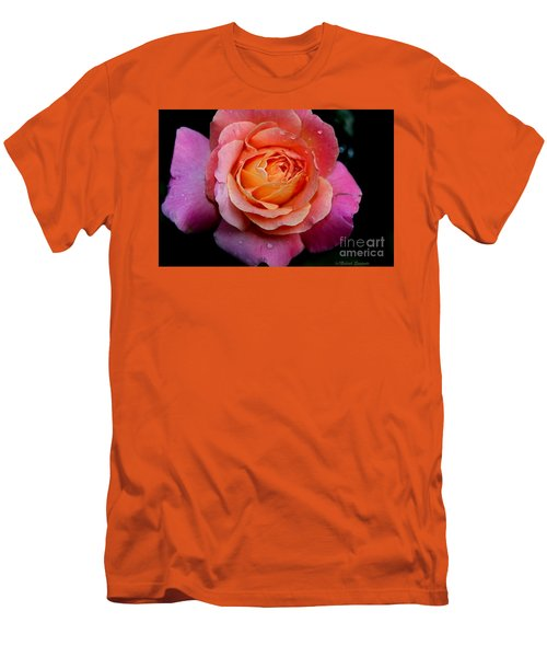 Smell The Rose Men's T-Shirt (Athletic Fit)