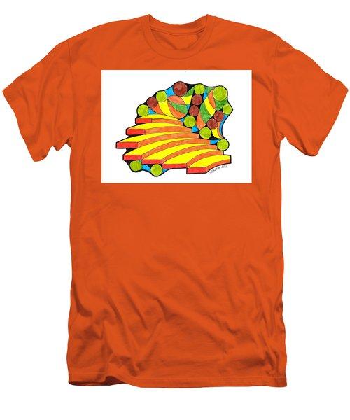 Snow Day 1 Men's T-Shirt (Slim Fit) by Paul Meinerth