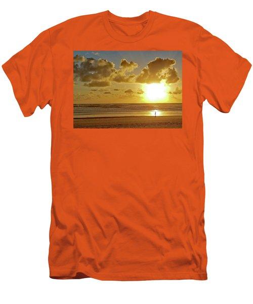 Solar Moment Men's T-Shirt (Athletic Fit)