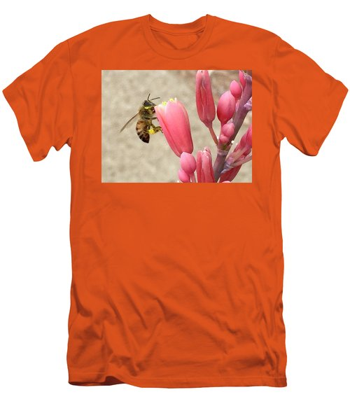 Something To Buzz About Men's T-Shirt (Slim Fit) by Russell Keating