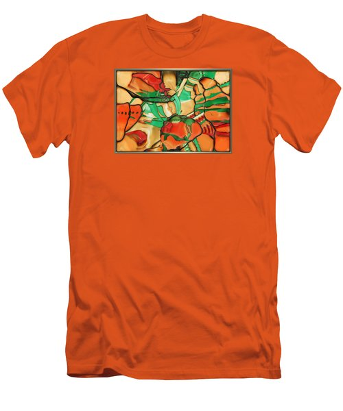 ' Somewhere In Mexico' Men's T-Shirt (Slim Fit)